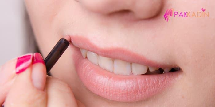 dudak kalemi kullanma teknikleri