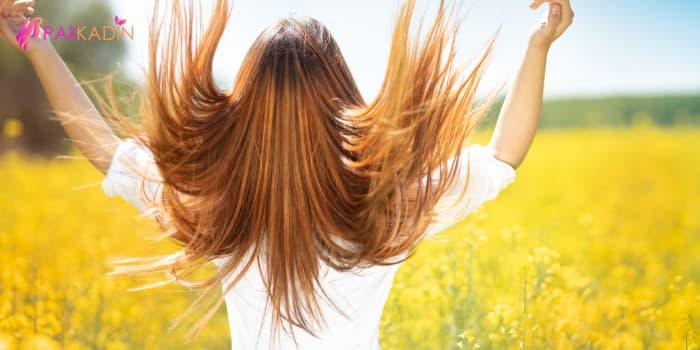 saç rengini doğal yollarla açma