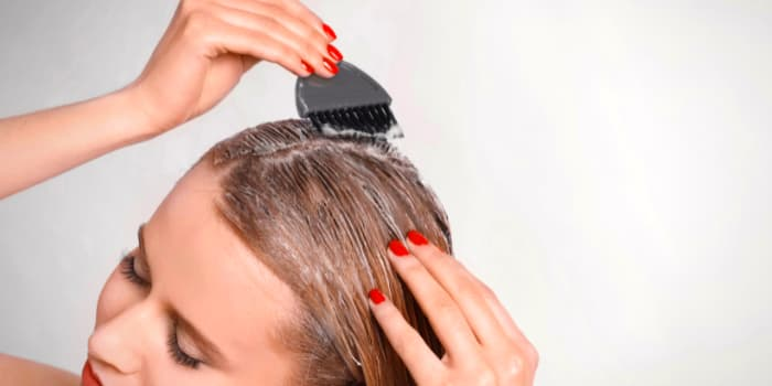 evde saç kremi yapımı